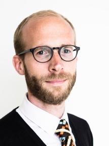 Photo Alexander Meeus voor De Standaard - Journalist Daan Ballegeer