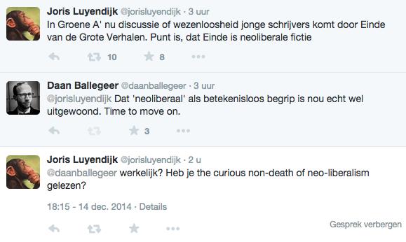 Tweet Luyendijk